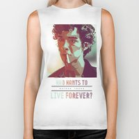 forever young Biker Tanks featuring Forever Young by InariRaith