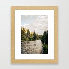 Rvier Framed Art Print