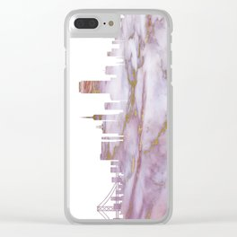 San Francisco California Clear iPhone Case