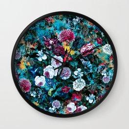 Night Garden Rc Wall Clock