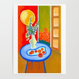 oranges in the afternoon ... Poster