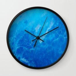 Ocean Reflections Wall Clock