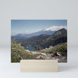 Mt Shasta Mini Art Print