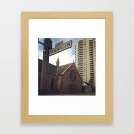 America 11 Framed Art Print