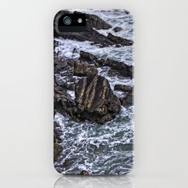 High Tide and Rock Formation iPhone Case