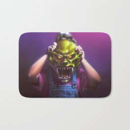 The Haunted Mask Bath Mat