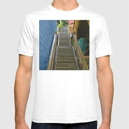 Old Cape Cod Stair Steps T-shirt