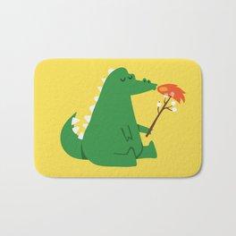 Dragon and Marshmallow Bath Mat