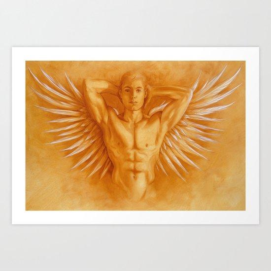 Angel Gabriel Art Print