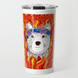 Midsommar // Alternative Film Poster // Bear Travel Mug