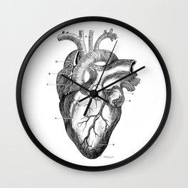 Anatomic hearth engraving Wall Clock