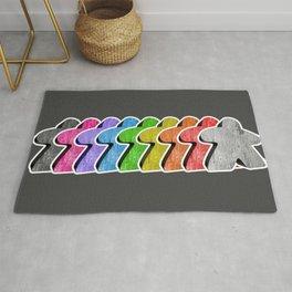 Meeple Rainbow Row Rug