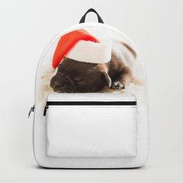 french buldog 2 Backpack