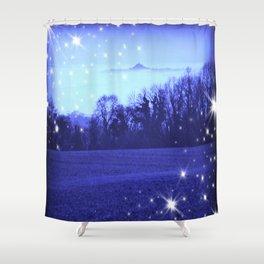 Starlit Avalon Shower Curtain