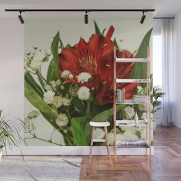 Still life with flowers Wall Mural