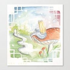 Dreaming of Wonderland Canvas Print