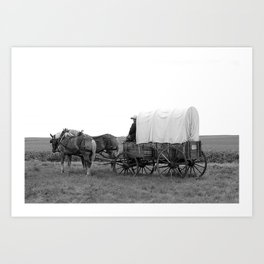 On the Wagon Art Print