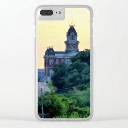 Shelbyville, Illinois Overlook Clear iPhone Case