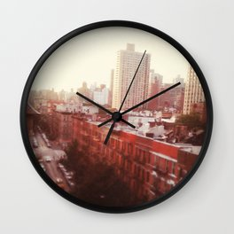 The Upper East Side (An Instagram Series) Wall Clock