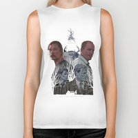 true detective Biker Tanks featuring True Detective by TidyDesigns