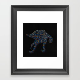 Blue-ringed Octopus Framed Art Print