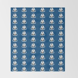 flag of Lousiana 2-Louisiana,new orleans,jazz,french,cajun,treme,baton rouge,south,Louisianian Throw Blanket