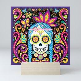 Sugar Skull (Azúcar) Mini Art Print