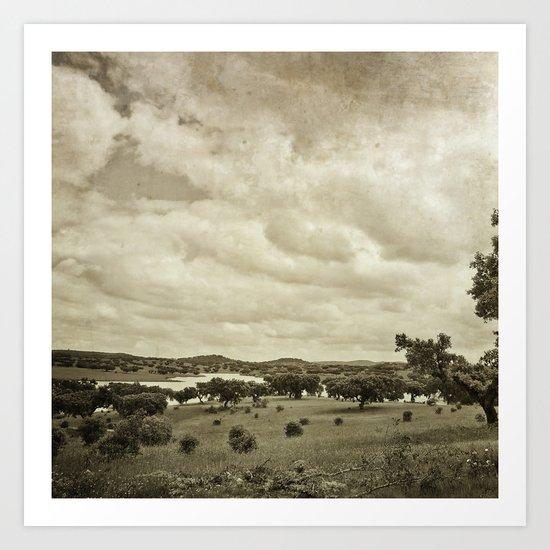 - Alentejo Western - Art Print