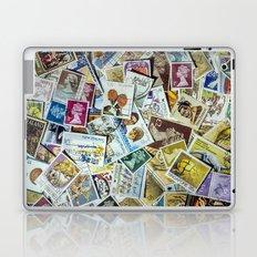 Postage Stamps Laptop & iPad Skin