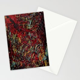 Encaustic Series - Veins & Organs Stationery Cards