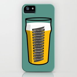 The Golden Mile iPhone Case