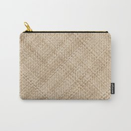 Basket Weaving Carry-All Pouch