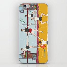Schol Ballet Training iPhone Skin