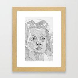 Nurse Ratched. Framed Art Print