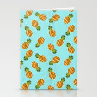 hawaii Stationery Cards featuring Hawaii by Kakel