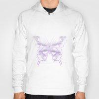 battlestar galactica Hoodies featuring Galactica Purple Butterfly by Tiffany 10