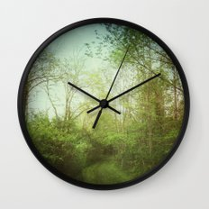 Follow Your Life Path Wall Clock