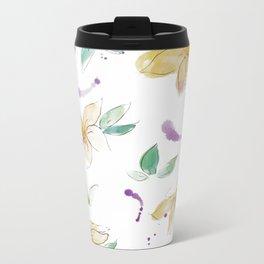 blazz studios: Spring Flowers Metal Travel Mug
