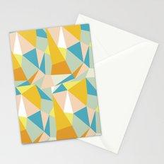 Triangular spectrum Stationery Cards