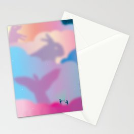 Aurora Borealis Explained Stationery Cards