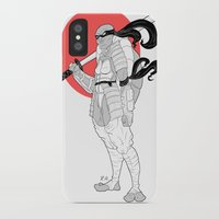 ninja turtle iPhone & iPod Cases featuring A Female Ninja Turtle by Rach-Draws