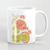 hummingbird Mugs featuring Hummingbird by Thesecretcolors