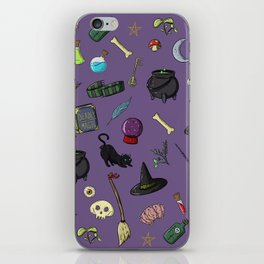 Witchcraft and Wizardry iPhone Skin