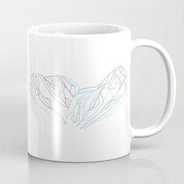 Stevens Pass, WA - Minimalist Trail Map Coffee Mug