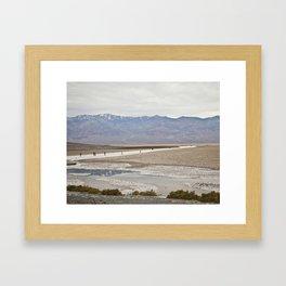 Badwater Basin, Death Valley, CA Framed Art Print