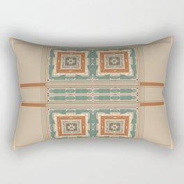 Relaxing Color Tone Pattern Design Rectangular Pillow