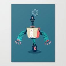 :::Mini Robot-Dynamo::: Canvas Print