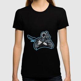 Bighorn Ram Lacrosse Mascot T-shirt