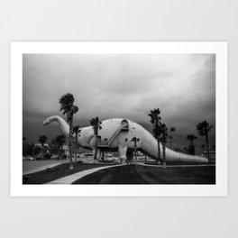 Dinosaur Park - Prehistoric California Art Print