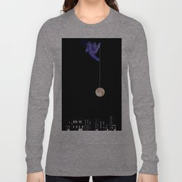 Moon Yo-yo Long Sleeve T-shirt